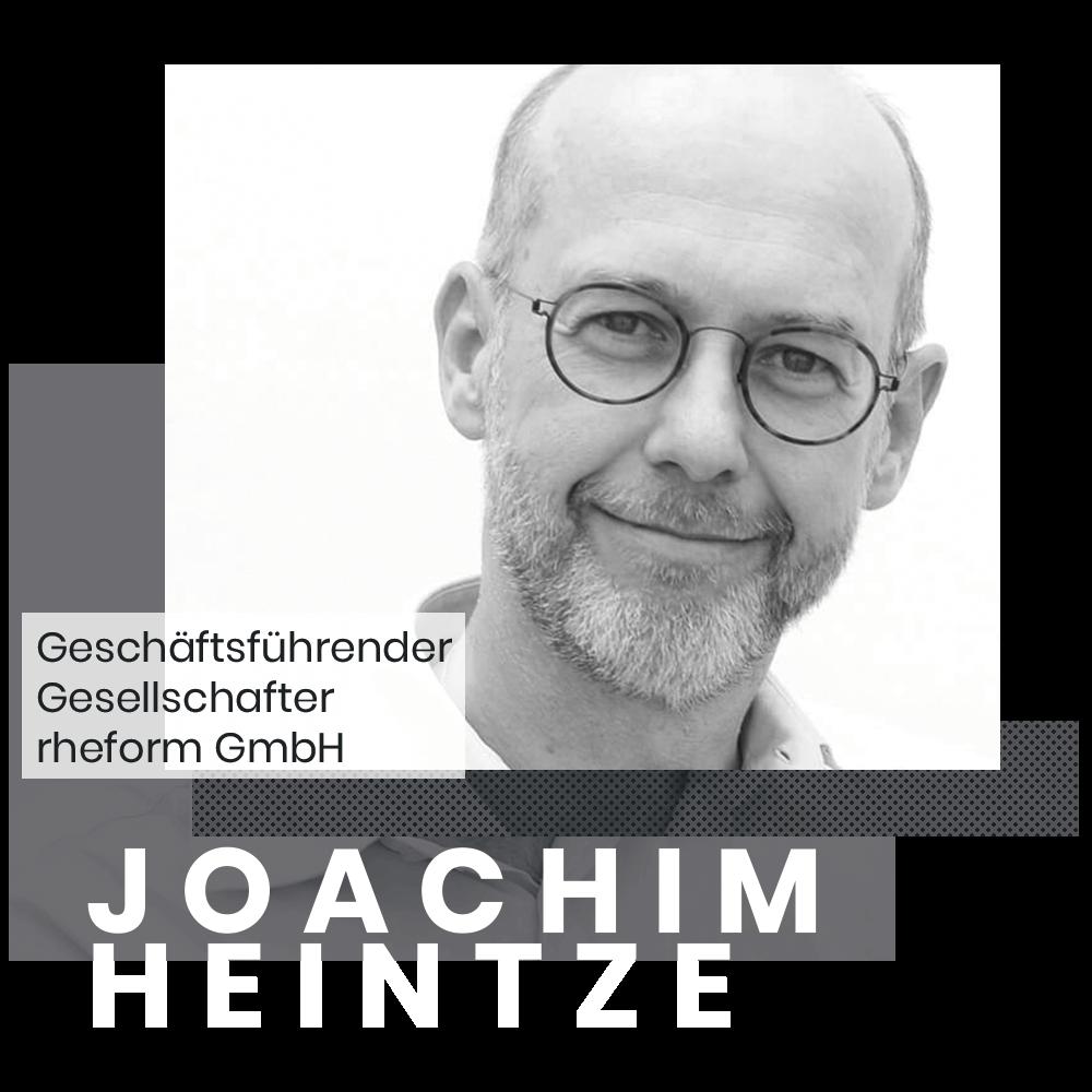 Joachim Heintze Gründer und Geschäftsführender Gesellschafter