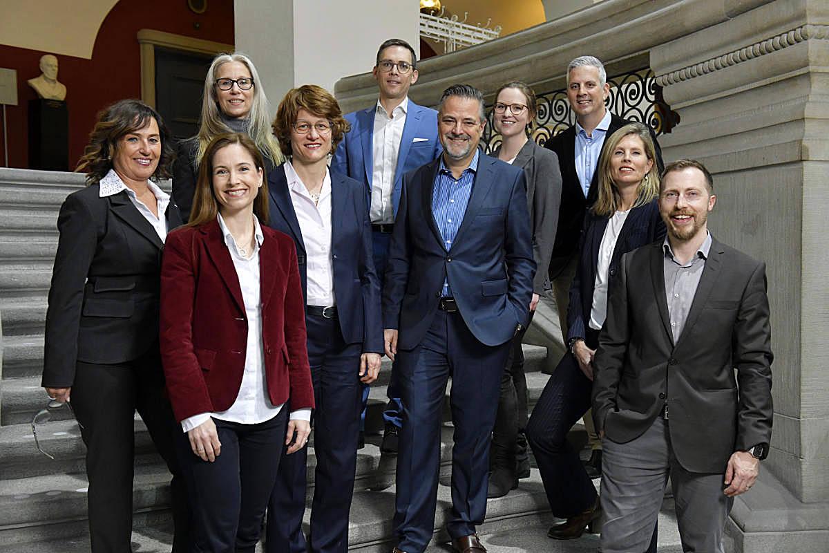 Teamfoto der UZH-Foundation