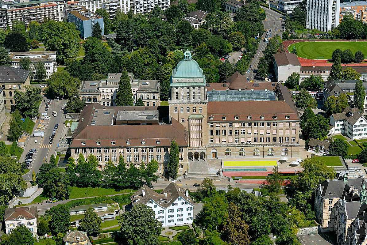 Luftaufnahme Universität Zürich